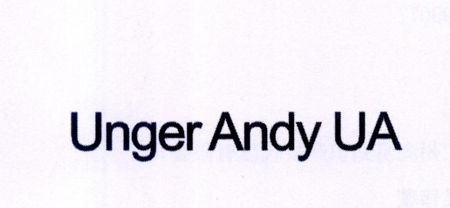 UNGER ANDY UA